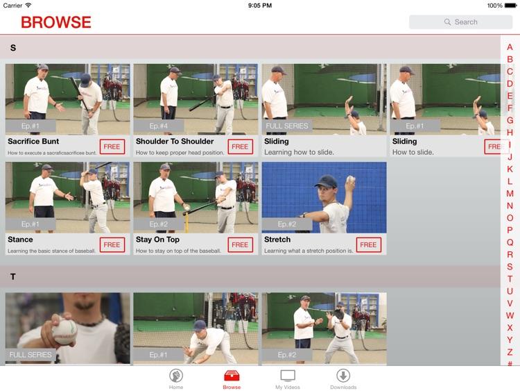 Baseball Video Lessons: Basics of Baseball screenshot-3
