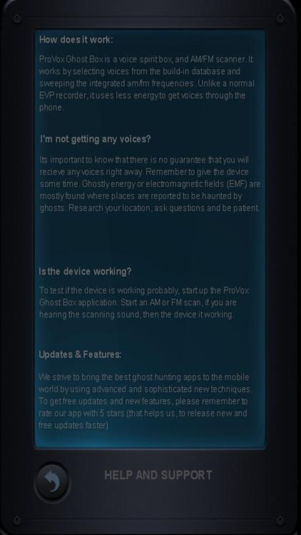 ProVox Ghost Box screenshot-3
