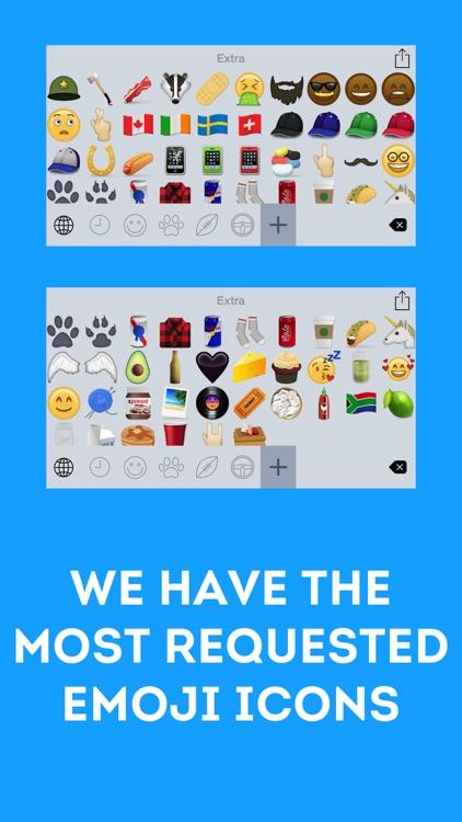 Emoji Free - Extra Icons screenshot-3