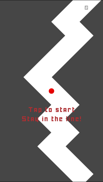 ZigZag Line - Impossible Game screenshot one