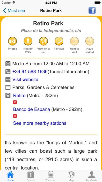 Madrid Travel Guide Offline screenshot-3