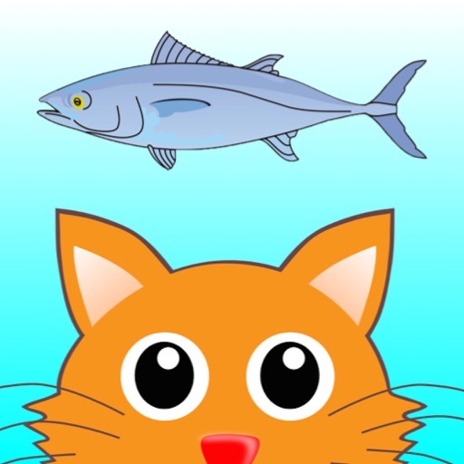 Distinguish Food And Rubbish: Feed Cute Cat With Fish icon