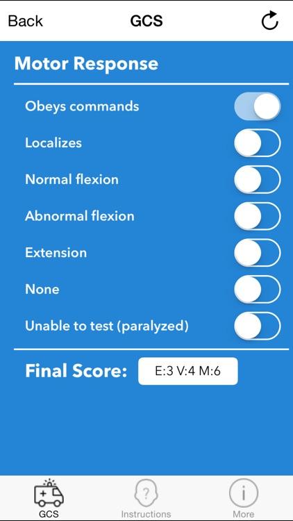 GCS 2015 - Glasgow Coma Scale Calculator