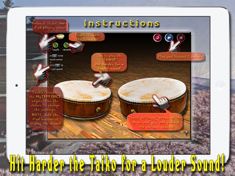 i Play My Japanese Drums HD screenshot-3