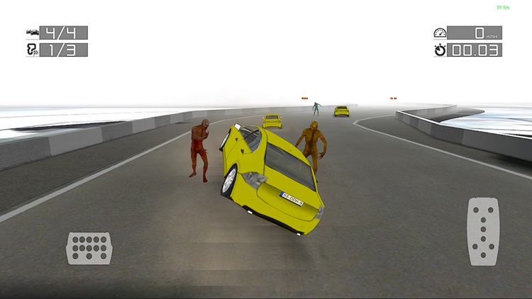 Zombie Racing : Top Scary Game
