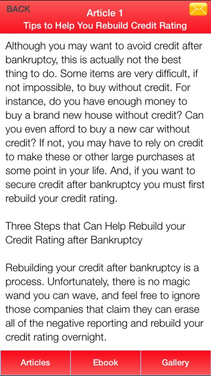 Bankruptcy Guide - Everything You Need To Know After Bankruptcy screenshot-4