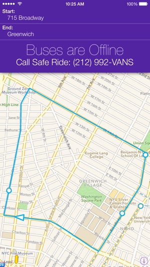 Nyu bus tracker on the app store sciox Images