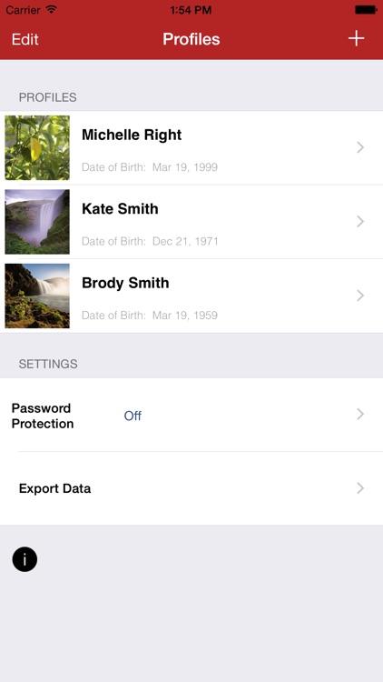 Family Medical History screenshot-0