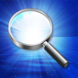Magnifying Glass With Light -  digital magnifier with flashlight Business app
