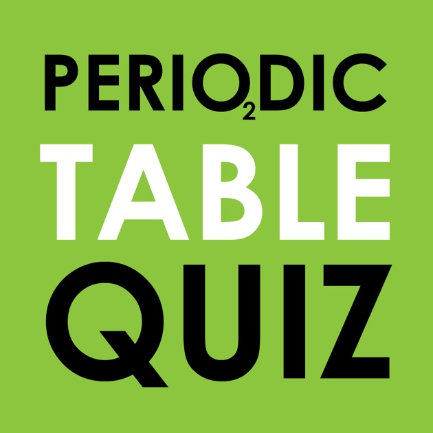 Periodic table quiz do you know the elements on the app store urtaz Choice Image