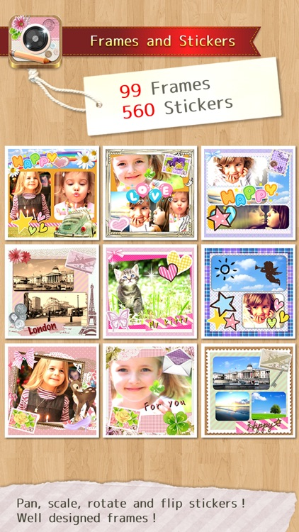 InstaDeco - Sticker, PicFrame, Collage and Text for Instagram, Purikura