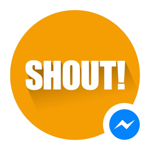 Shout for Messenger icon