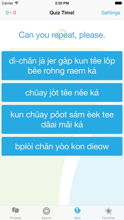 Thai Phrasebook - Travel in Thailand with ease screenshot-3