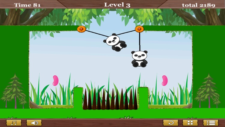 A Panda Puzzle Games For Free New Animal Fun Skill Logic Thinking screenshot-3