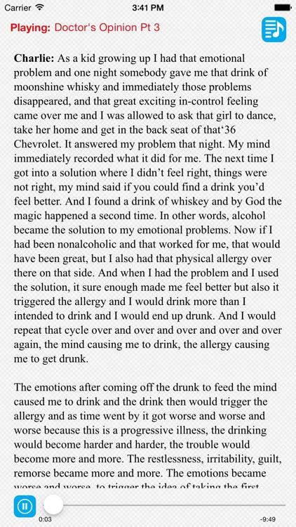 Joe & Charlie Big Book Alcoholics Anonymous
