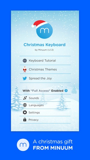 Christmas Keyboard - Countdown to Xmas on the App Store