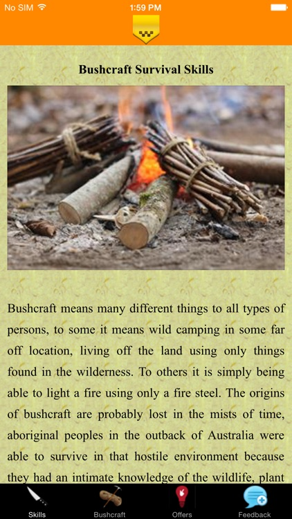 Bushcraft Survival Skills - Quick Guide