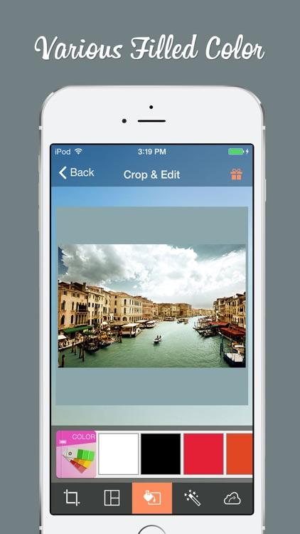 Cropic - Crop Photo & Video Insta-size Layout screenshot-3