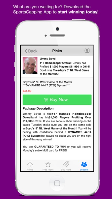 Free Sports Picks & Odds app image