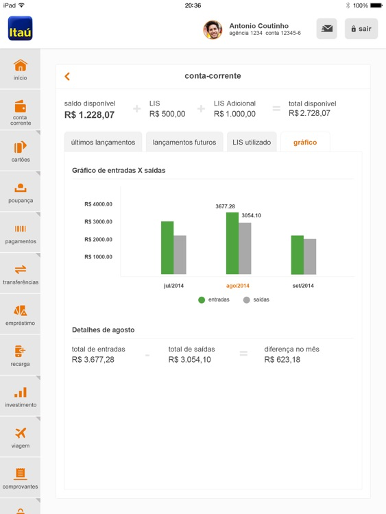 Itaú para iPad screenshot-4
