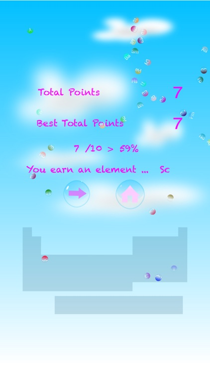 Periodic Table of Elements Bubble Pop screenshot-4