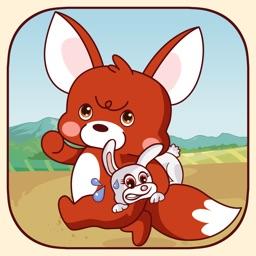 Fox And Rabbit - Bunny Run