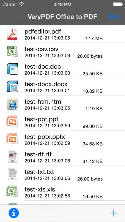 VeryPDF Office to PDF Converter screenshot-3