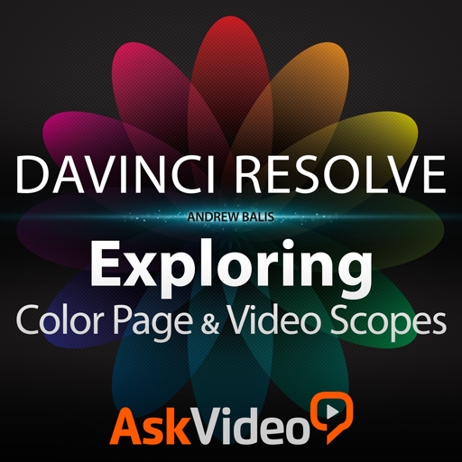Course For DaVinci Resolve 102 - The Color Page and Video Scopes