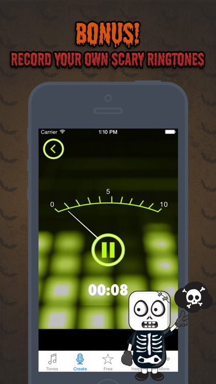Halloween Ringtones - Scary Sounds for your iPhone screenshot-3