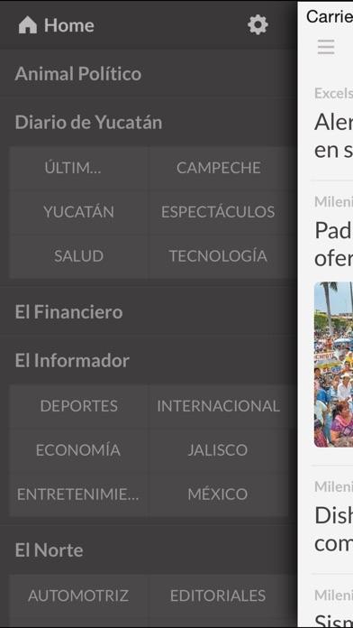 Peridicos Mx review screenshots