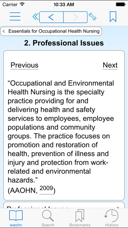 Essentials for Occupational Health Nursing screenshot-1