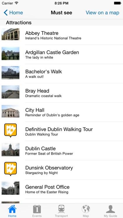 Dublin Travel Guide Offline