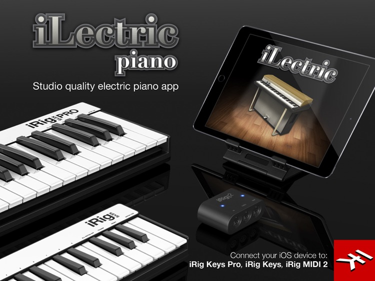 iLectric Piano for iPad screenshot-1