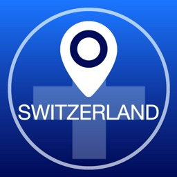 Switzerland Offline Map + City Guide Navigator, Attractions and Transports