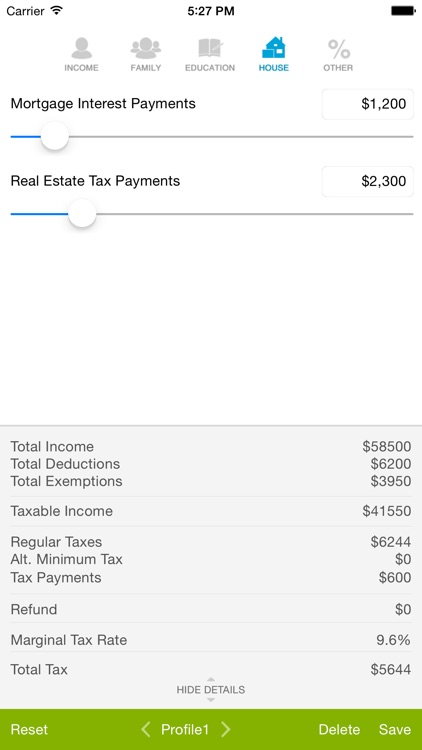 Tax Calculator - Quick Estimate of your 2014 Tax Refund screenshot-3