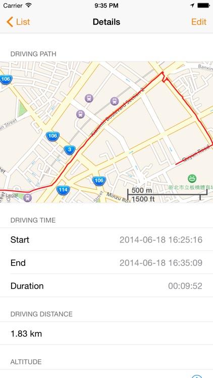 Driving Rec - Car Camera Recorder screenshot-3