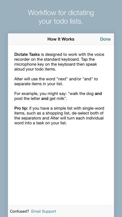 Todo Lists with Alter screenshot-4