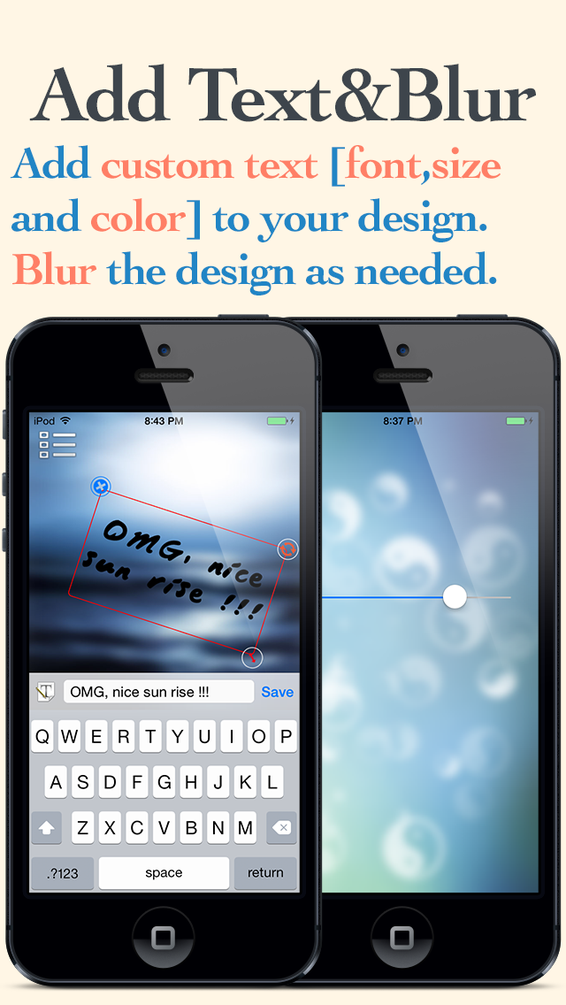 Blurred lite - Create your own custom blur wallpapers screenshot four