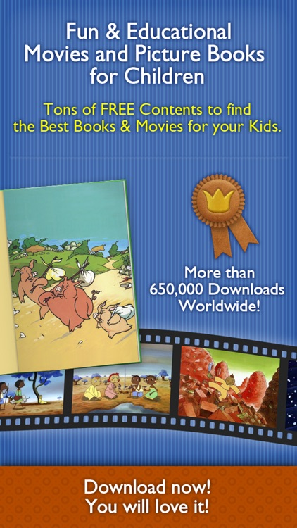 Children's Tales – An Educational app with the Best Short Movies, Picture Books, Fairy Stories and Interactive Comics for your Toddlers, Kids, Family & School