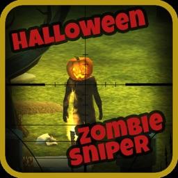Halloween Carved Pumpkin Zombie Sniper 3D!
