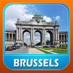 Brussels City Offline Travel Guide