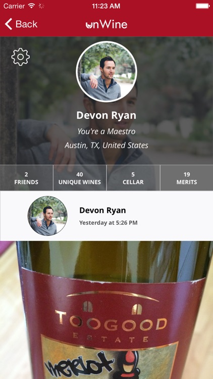 unWine - Social Wine Discovery