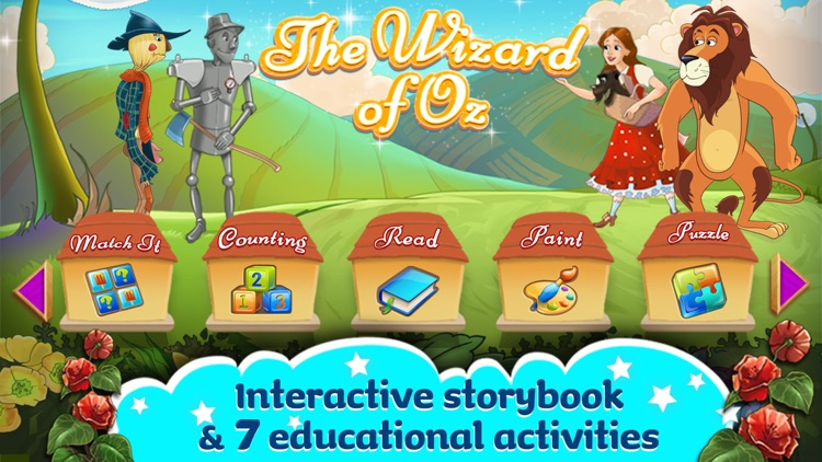 The Wizard Of Oz -  All In One Education Center & Interactive Storybook for Kids screenshot-0