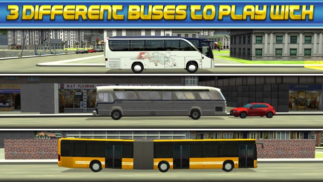 3D Bus Driver Simulator Car Parking Game - Real Monster Truck