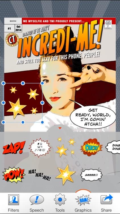 Comic Touch 2 screenshot-4