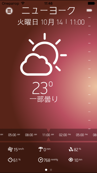 Weather Book for iPhone屏幕截圖1