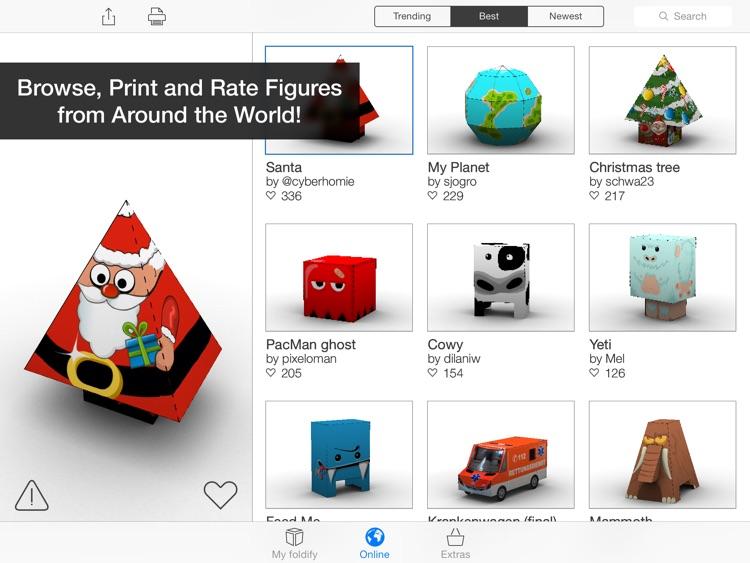 Foldify - Create, Print, Fold! screenshot-3