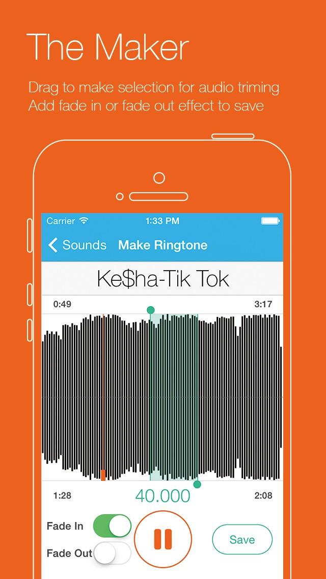 Ringtone Genius Free - Professional Ringtone Maker Скриншоты3