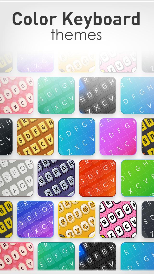 キーボードテーマ Pro – iPhone、iPad、iPod用の カスタムできる新しいキーボードスキンのおすすめ画像1
