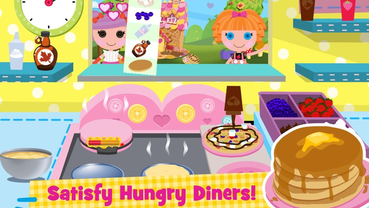 Lalaloopsy Diner - A Candy Coated Burgeria, Pizza Party Cooking Game screenshot-3